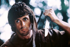 Sylvester Stallone holding knife First Blood 11x17 Mini Poster
