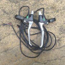 Electric Bike Brake Levers Will Fit 24v 36v 48v With Motor Cut Off Sensors