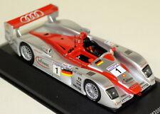 Ixo 1/43 Scale LM2002 Audi R8 Team Joest #1 Le Mans 2002 Diecast Model Car