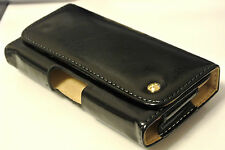 Leather Mobile Phone Pouches/Sleeves with Clip