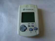 SEGA Dreamcast White VMU Visual Memory Unit DC Japan With Cap