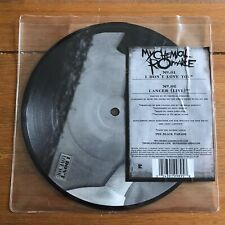 """My Chemical Romance - I Don't Love You / Cancer Live 7""""  Picture Disc Vinyl"""