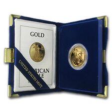 1992-P 1/2 oz Proof Gold American Eagle (w/Box & COA) - SKU #11085