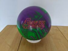 15lb Brunswick Fearless Bowling Ball Used