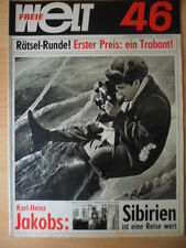 FREIE WELT 46 1965 Ernst Busch Möbelneuheiten Krakov Angelsport Pater Kolbe