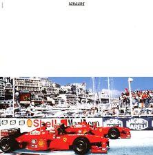 1999 FERRARI FORMEL 1 GREETINGS GRUß KARTE CARD ORIGINAL 1540/99