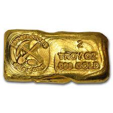 2 oz Gold Bar - Prospector's Gold & Gems - SKU #73516