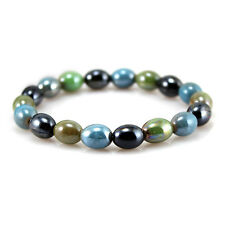 New Power Health Tourmaline Mixed Beads Stretch Bracelet Wristband Free Shipping
