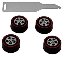 Brightvision Redline Tune-Up Kit #2 - 4 Medium Hong Kong Bearing Style Wheels