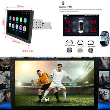 Android 8.1 Single 1Din 1080P Touch Screen Quad-Core Car Stereo Radio GPS Wifi