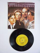 "Kraftwerk Showroom Dummies / Numbers UK 1982 7"" Vinyl Single A2B1 Matrix EMI5272"