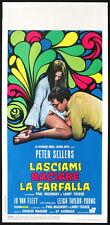 CINEMA-locandina LASCIAMI BACIARE LA FARFALLA sellers,van fleet,AVERBACK