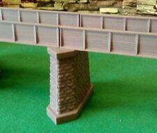 OO Gauge Bridge Support Pier Model Railway Girder Support Brick Stone Detail