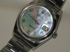 ROLEX PRECISION 6694VINTAGE MEN'S WATCH WITH RARE MOP DIAL & RARE ROLEX BRACELET