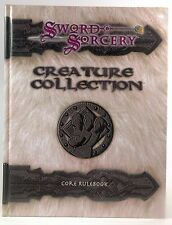 Creature Collection: Core Rulebook (Sword and Sorcery) Staff, SSS, Spencer, Ron,