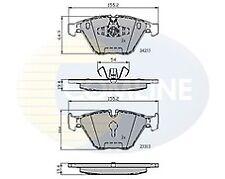 Comline CBP01700 Brake Pad Set Front 34112288858 34112288859 2 Year Warranty