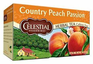 Celestial Seasonings Herbal Tea Country Peach Passion 20 Count
