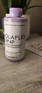 Olaplex No.4P Blonde Enhancer Toning Shampoo 250ml/8.5 oz, Authentic, SEALED