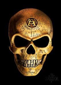 Tattoo Skull, Gothic Alchemy Empire, Omega Bones Medium Metal/Steel Wall Sign