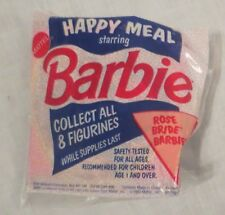 McDonald's Barbie Rose Bride Barbie 1991 NEW