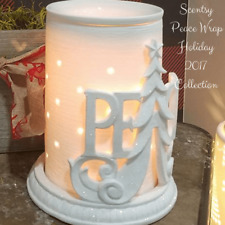 New IN BOX Scentsy PEACE Warmer Wrap. WRAP ONLY-NO WARMER- CHRISTMAS HOLIDAY
