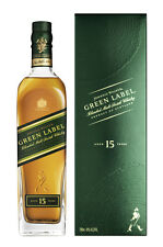 Johnnie Walker Etiqueta Verde blended pinta Scotch Whisky 0,7 litros de 43% vol. 15 anual