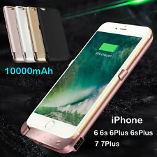 External Power bank Pack backup battery Charger Case For iPhone 6s 6Plus 7 7Plus