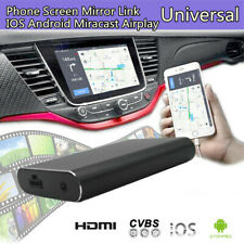 Phone Screen Car Stereo Mirror Link Miracast Airplay AV USB HDMI for IOS Android