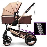 Newborn Child Baby Carriage Foldable Travel Stroller Buggy Pushchair Pram AZX