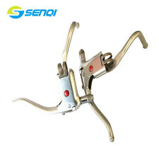 Road Bike Brake Lever Racing Bent Bar Aluminum Alloy Dual-control V Brake Levers