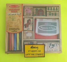 ❤️Stamp a Scene Farm Set KIT # 7910 Melissa & and Doug NEW!!! Authentic!!!❤️