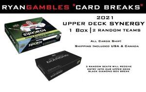 2020-21 Upper Deck Synergy |  1 Box Break | 2 Random Teams #BD3