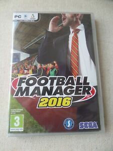 FOOTBALL MANAGER 2016 PC GAME MADE BY SEGA