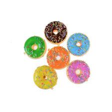 7 cm Mini Donut   Slow Rising Cell Phone Straps Bread Anti stress Toy  JR