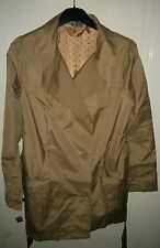 Beautiful Ladies New La Redoute Button up Beige Mac Trench Coat size 10-12