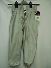 Mens Football Pants Game Slotted Silver Grey Gray 3X XXXLarge New