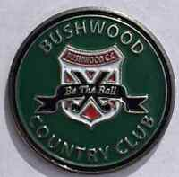 Caddyshack Bushwood CC Golf Ball Marker You'll get nothing and Like it!