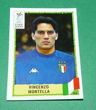 N°185 VINCENZO MONTELLA  ITALIA ITALY ITALIE PANINI FOOTBALL UEFA EURO 2000