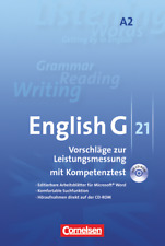 English G 21 Vorschläge zur Leistungsmessung A2 - CD-ROM und CD NEU OVP