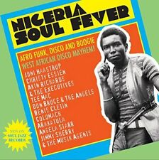 Nigeria Soul Fever - Afro Funk Disco and Boog-soul Jazz Records Presents CD