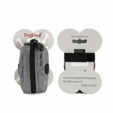 Dog Waste Bag Holder for Bag Dispenser Zipper Pouch Easy to Clean plus FREE Gift