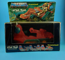 ATTAK TRAK 1982 Masters of the Universe BOX He-Man Mattel