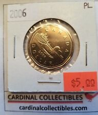 2006 Canada $1 Loonie in PL (PROOF LIKE) Condition
