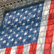 """American Flag Photography Cleaning Cloth """"World's Biggest Stars &"""