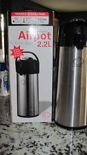 Airpot 2.2L, with Glass liner, commercial Quality by Select-Air, new in box.