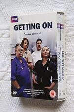 Getting On: Complete Series 1 and 2(DVD, 2PK Box set) R-2,4, Like new, free post