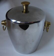 MID CENTURY ICE BUCKET WITH LID LETANG & REMY FRANCE
