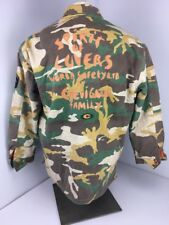 Vintage CHEVIGNON World Tribe Military Army of Lovers Camo World Saftey Jacket L
