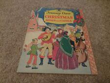 Vintage Treasure Chest of Christmas Songs and Carols sheet music 1936