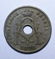 1926 Belgium 25 Centimes - Albert I (Dutch text) - Lot 3